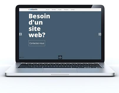 Antonin.ca website redesign