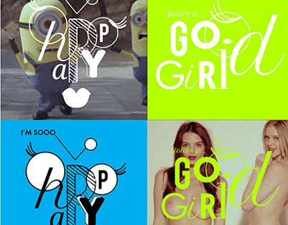 i am a good girl... / Free fun work