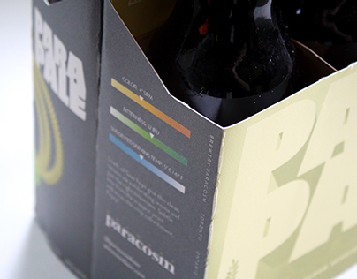 """Beer Packaging - """"PARAPALE"""" 6-pack and Bottle Labels"""