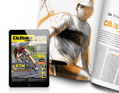 Editorial Design & illustration _ Bike Magazine