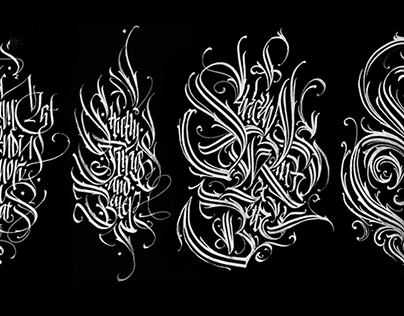 Calligraphy collection: part 3. Best of the best.