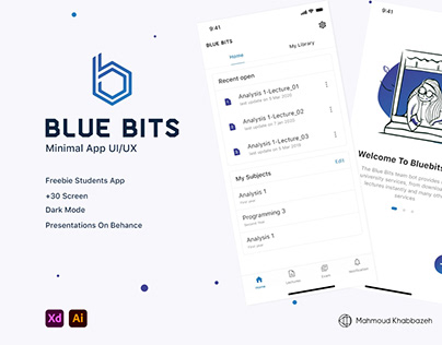 Freebie Students app || Blue Bits app