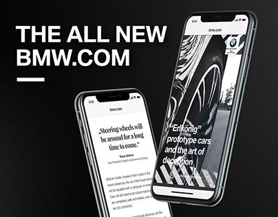 The all new BMW.COM