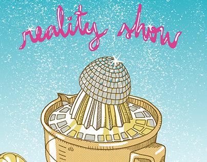 FRAN SAN DISCO - Reality Show CD/LP design and print