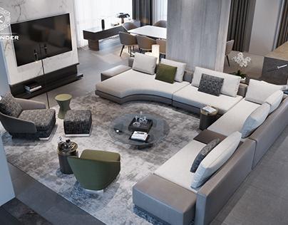 Living room Nolan Jolie Villa