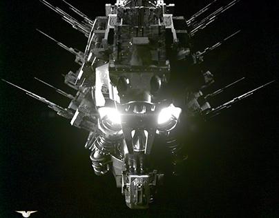 HEAD OF A MACHINE