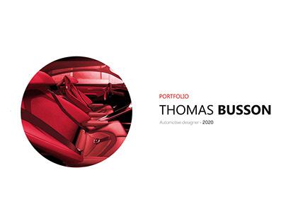 PORTFOLIO - THOMAS BUSSON - 2020