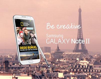Samsung GALAXY Note II - Diego in Paris TVC