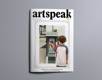 ArtSpeak November Issue