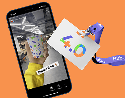 Hub 4.0 – Branding and Visual Language