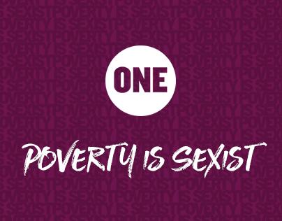 International Women's Day Petition Microsite