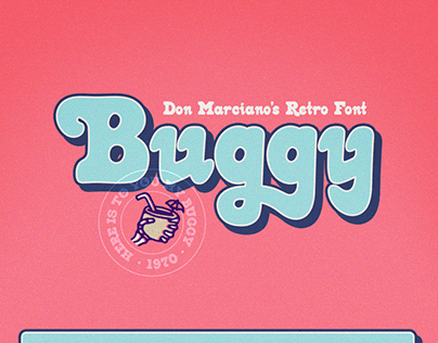Buggy Free Retro Font