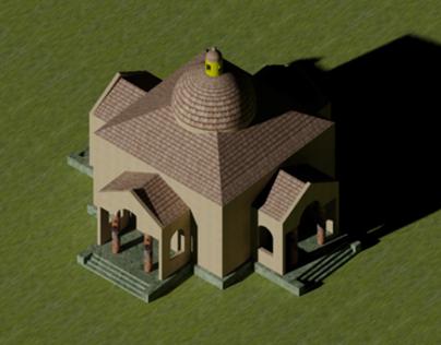Modelado 3D - ARQU 1551 -201020 -Palladio Villa Rotonda