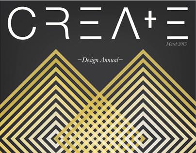 CREATE- Design Magazine Concept