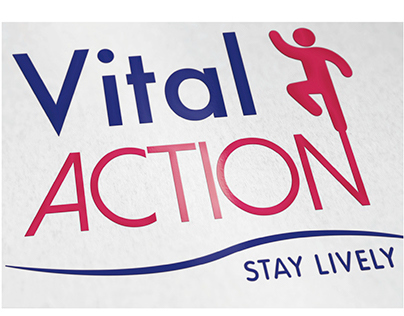 Brand Identity - Vital Action - School Project