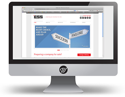 Website design for Exit Strategy Solution NW