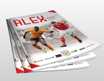 Crewe Alexandra Matchday Programme 2014-15