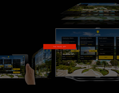 The Travel App - Multi-Screen Holiday Portal