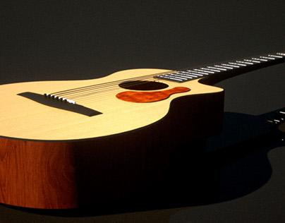 Taylor Guitar Rendered