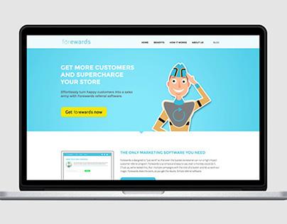 Forewards App - Website & Branding