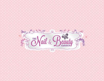 Nail & Beauty Garden branding