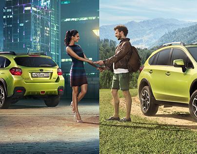 Subaru XV 2014 Summer Campaign