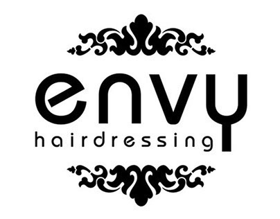 Envy Hairdressing branding