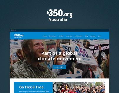 350 Australia Website