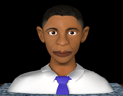 Character Animation: President Obama