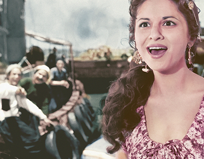 Coloring Classic Egyptian Movie- صراع في المينا