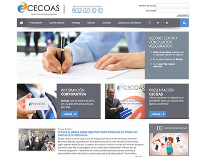 CECOAS Website (2013)