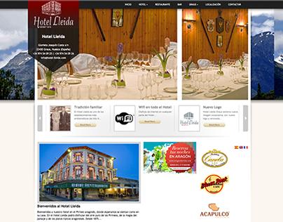 Hotel Lleida Graus Website (2011)
