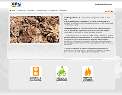 ENG Energia i Residus S.L. Website (2009)