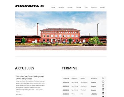 Zughafen Website Design + Development