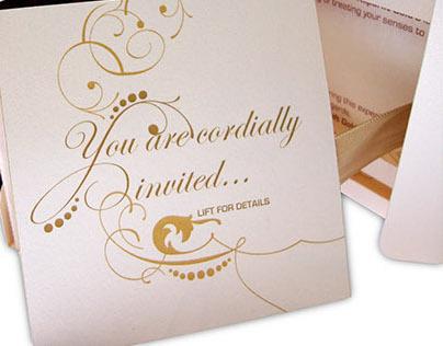 Klipdrift Gold invitations