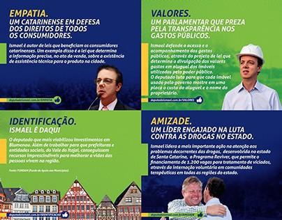 7 razões - Deputado Ismael dos Santos