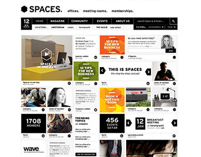 Website for Spaces