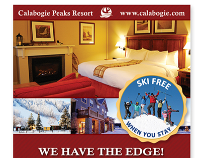 Print Advertising - Ski Resort