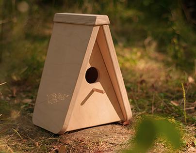 Birdhouse for birding maratnon «Malinovka 2014»