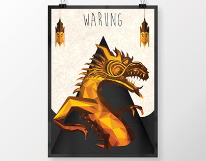 Ilustração: Poster Warung