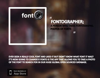 Fonto App Project Concept