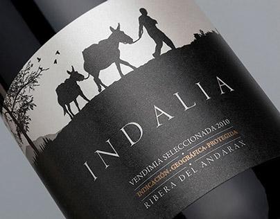 INDALIA   Wine Packaging Spain