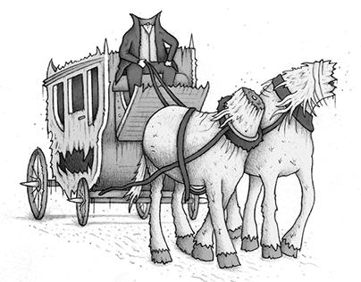 Meath Folk Tales - Book Illustration