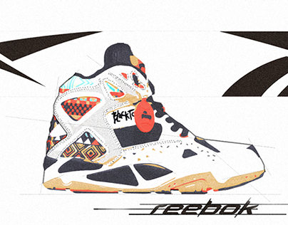Reebok Trainer illustration
