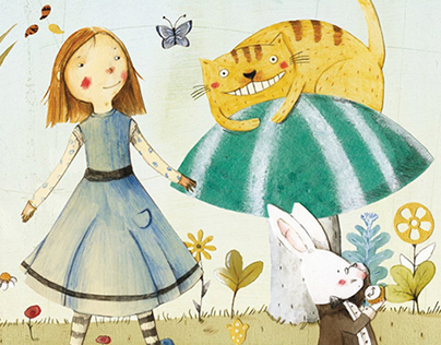 Alice im Wunderland - Children's Reading Book