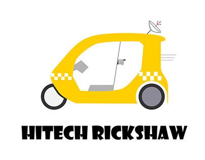HitechRickshaw // Logo