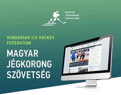 Magyar Jégkorong Szövetség Honlap / HIHF website