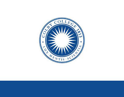 Colby College Scholarship Brochure