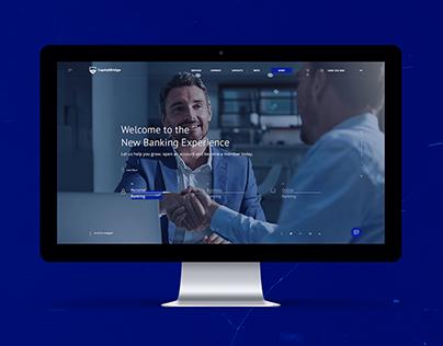 Capital Bridge Banking Website