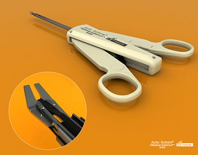 3D Medical Instrument Model
